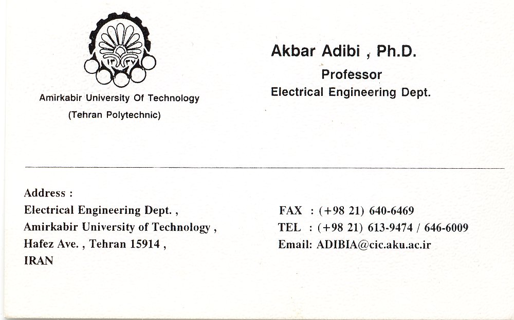 Professor akbar adibi misc pictures webpage professors business card in english colourmoves